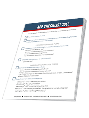 aep checklist cover image